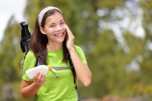 Shutterstock Sunscreen Hiking