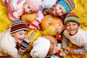 Shutterstock Fall Kids Playing