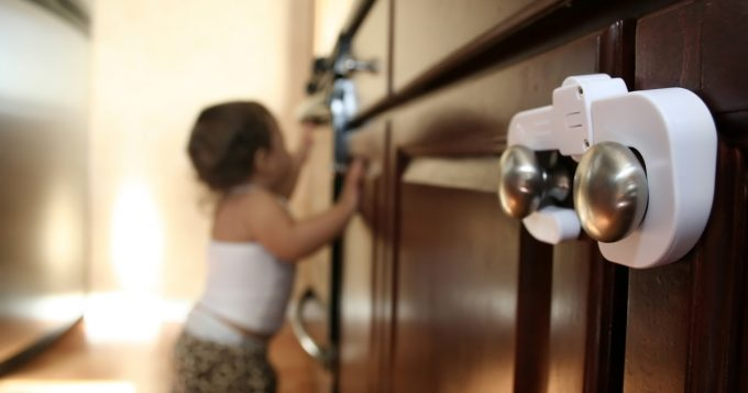 Child Proofing Cabinet Locks
