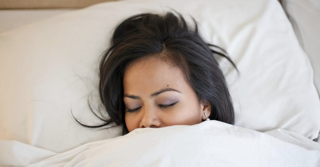 shutterstock-sleeping-woman