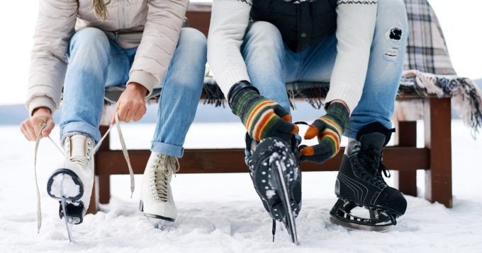 bundle up - stay warm during winter activities frostbite