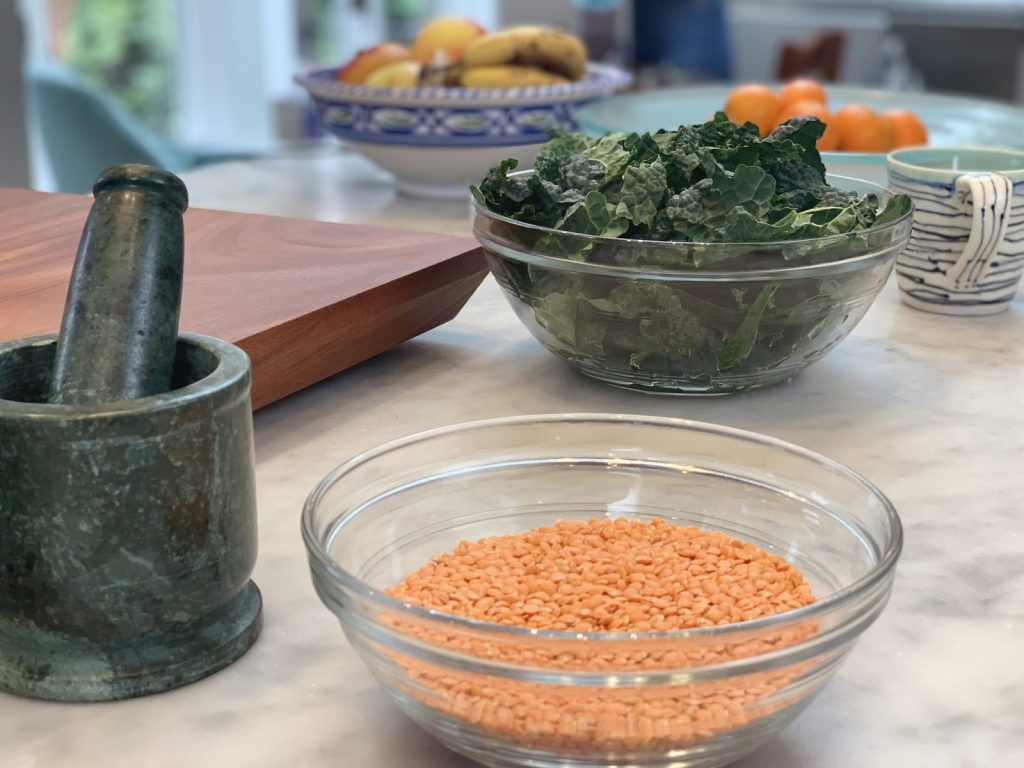 Indian-Style Lentils (Daal)
