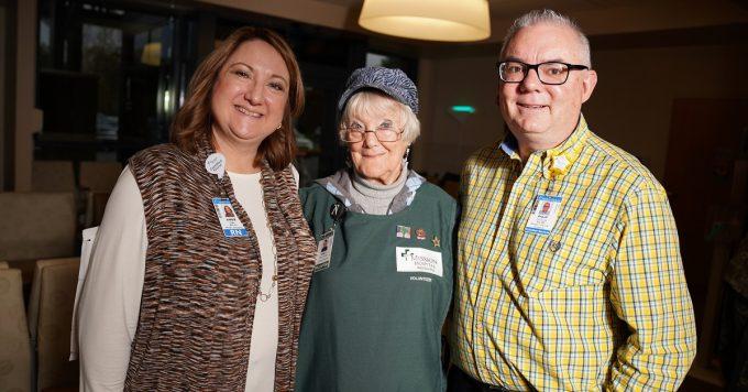 Nancy Northrop Sluzinski Volunteering at Mission Hospital McDowell