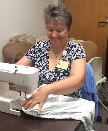 Volunteer Sewing Mission Hospital NICU Crib Sheets