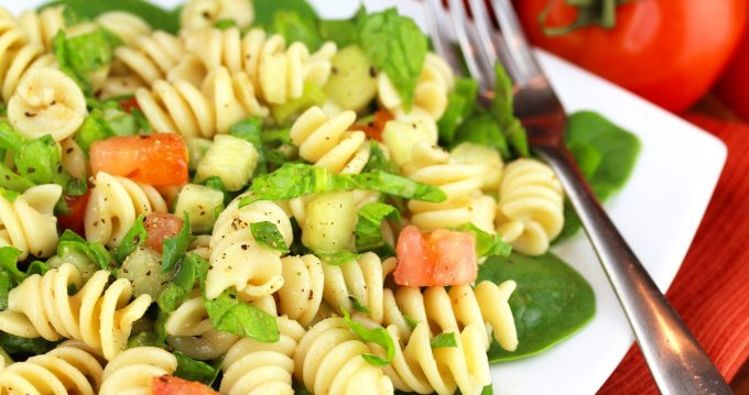 Mission Health Summer Fusilli Pasta Healthy Recipe