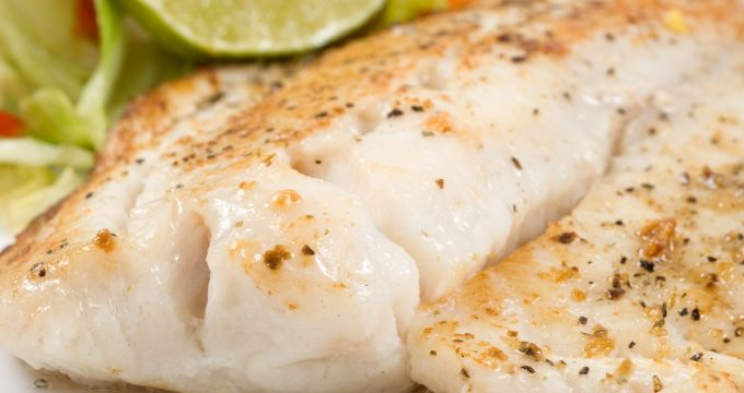 Healthy Recipe Broiled Tilapia with Mustard Sauce Mission Health