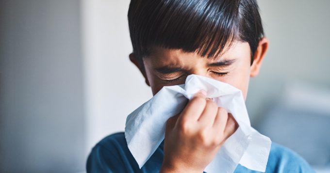 Ah-choo! boy flu season