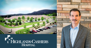 Tom Neal and Highlands-Cashiers Hospital