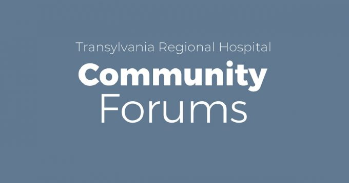 Transylvania Regional Hospital Community Forums