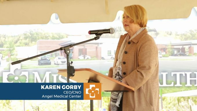 New Angel Medical Center Groundbreaking 2021